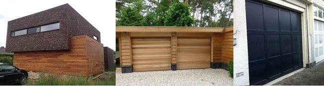 Hilversum houten sectionaaldeuren garagedeuren